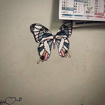 Papillon motif
