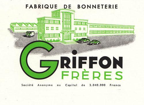Fabrique bonneterie des frères Griffon