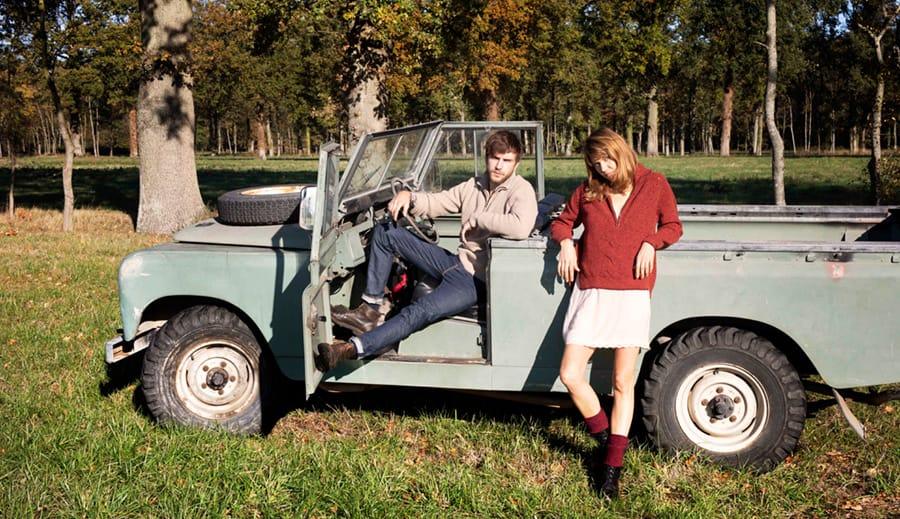 Saviem, pull 100% recyclé, tricoté et remaillé en France